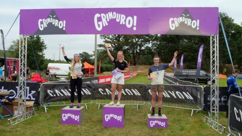 Pro womens podium